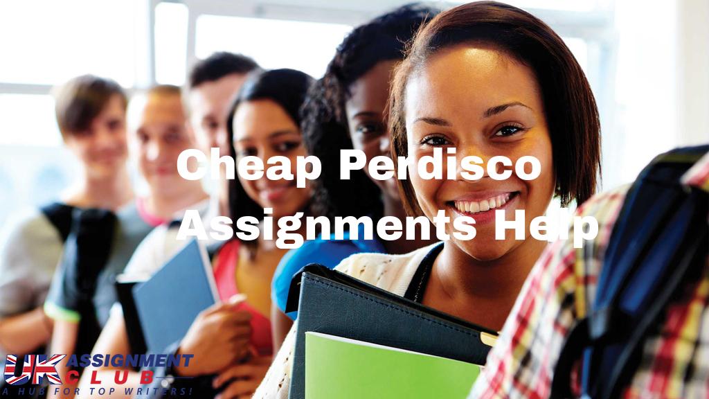 Cheap Perdisco Assignments Help
