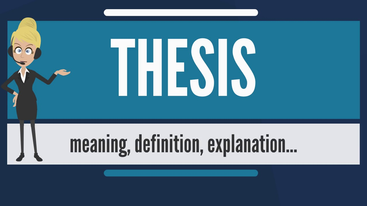 How To Write A Law Thesis Assignment
