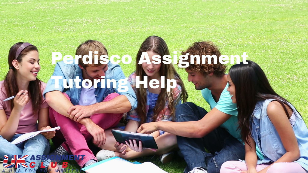 Perdisco Assignment Tutoring Help