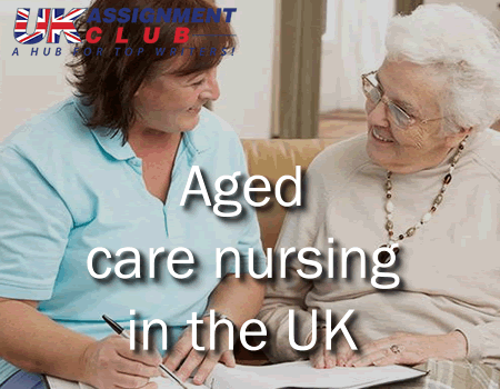 Aged care nursing in the UK