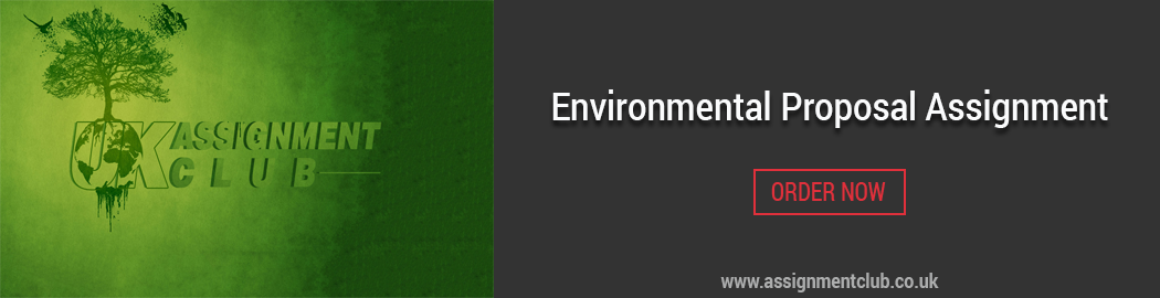 Buy Environmental Research Proposal Assignment