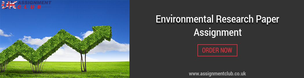 Buy Environmental Research paper.