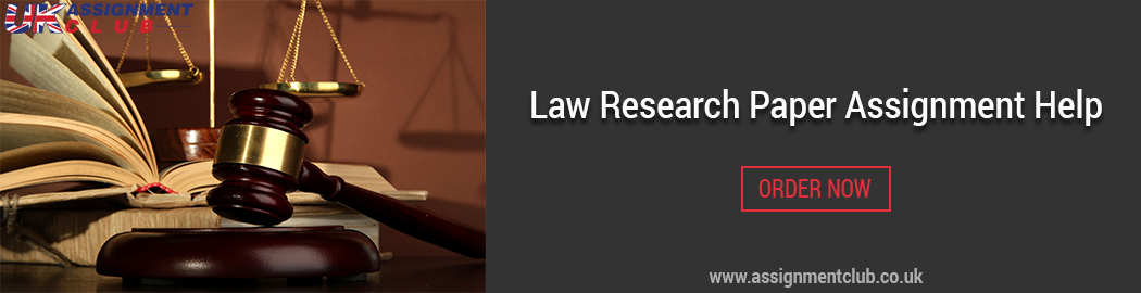 Buy Law Research paper Assignment help
